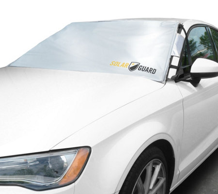 SolarGuard Windshield Cover and Sunshade with Security Panels