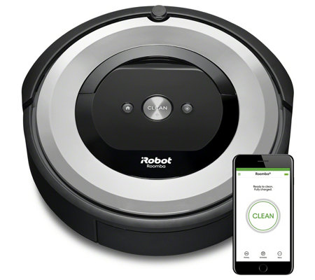 iRobot Roomba e6 112 Series WiFi Connect Robotic Vacuum