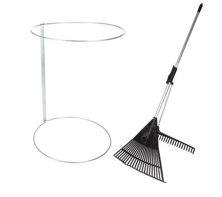 Rake N Grab Garden With Trash Bag Holder