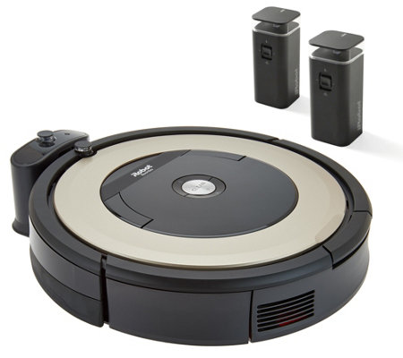 iRobot Roomba 895 Robotic Vacuum with 2 Virtual Wall Barriers