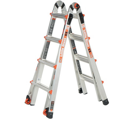 Little Giant EZ 17' 24-in-1 Multi-Function Ladder with Wheels