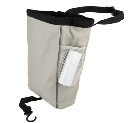 CarBage Automotive Leatherette Garbage Bag w/ Straps