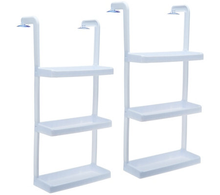 Set of 2 3-Tier Space Saving Shelves