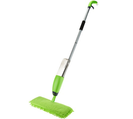 It Works! Spray & Clean Wet/Dry Double Sided Flip Mop