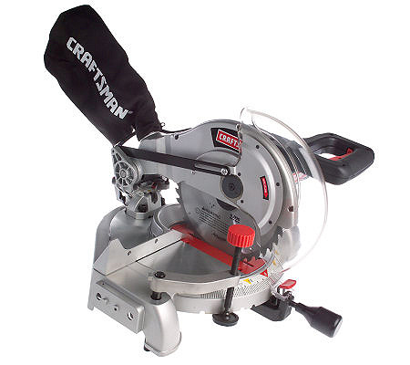 Craftsman Compound Miter Saw With Rotating Worktable QVCcom - Rotating work table