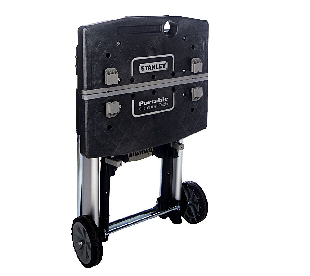 exceptional Stanley Portable Clamping Table Part - 1: Stanley Mobile Project Portable Clamping Table. product thumbnail. In Stock