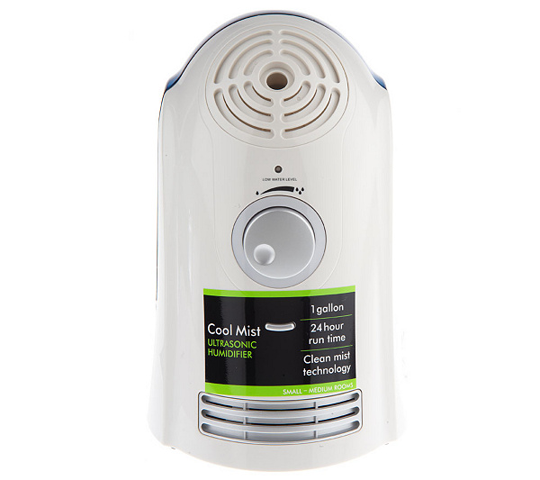 Sharper Image Ultrasonic Cool Mist Humidifier Wnightlight Page 1