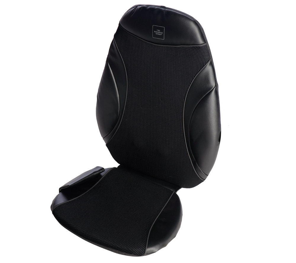 Sharper Image Shiatsu Deep Kneading Massage Cushion Page 1 Qvccom