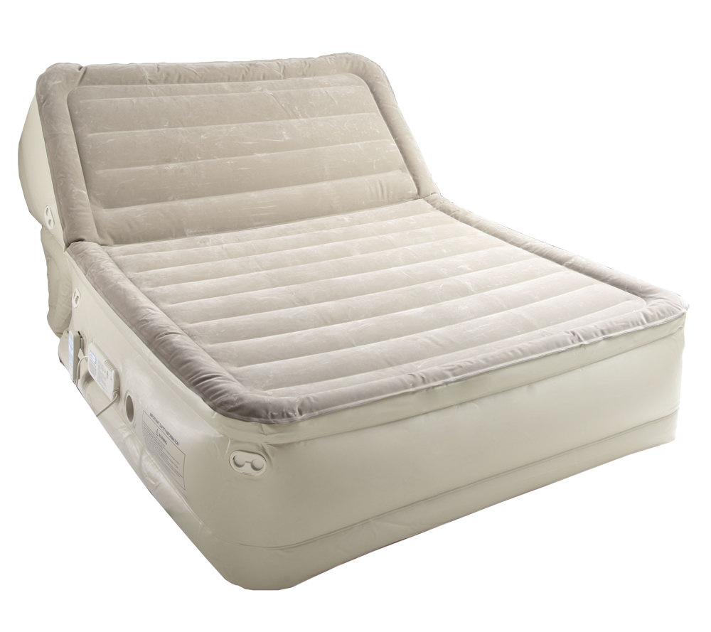Aerobed Full Size Air Mattress | Black Headboards For Queen Beds