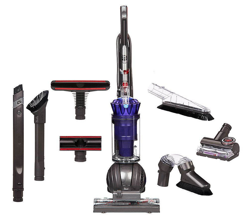 Image of: Hard Floors Dyson Dc41 Animal Ball Upright Vacuum With Attachments Qvccom Dyson Dc41 Animal Ball Upright Vacuum With Attachments Page
