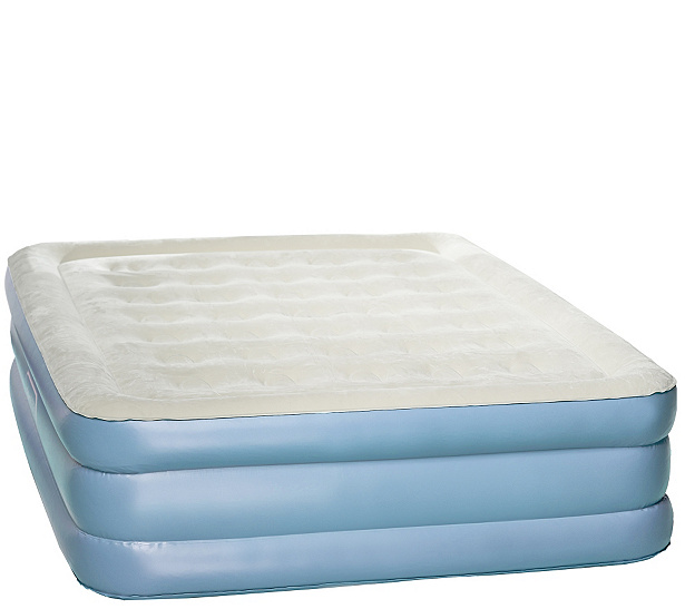 Aerobed Queen 18 Air Mattress With Antimicrobial Sleep Surface