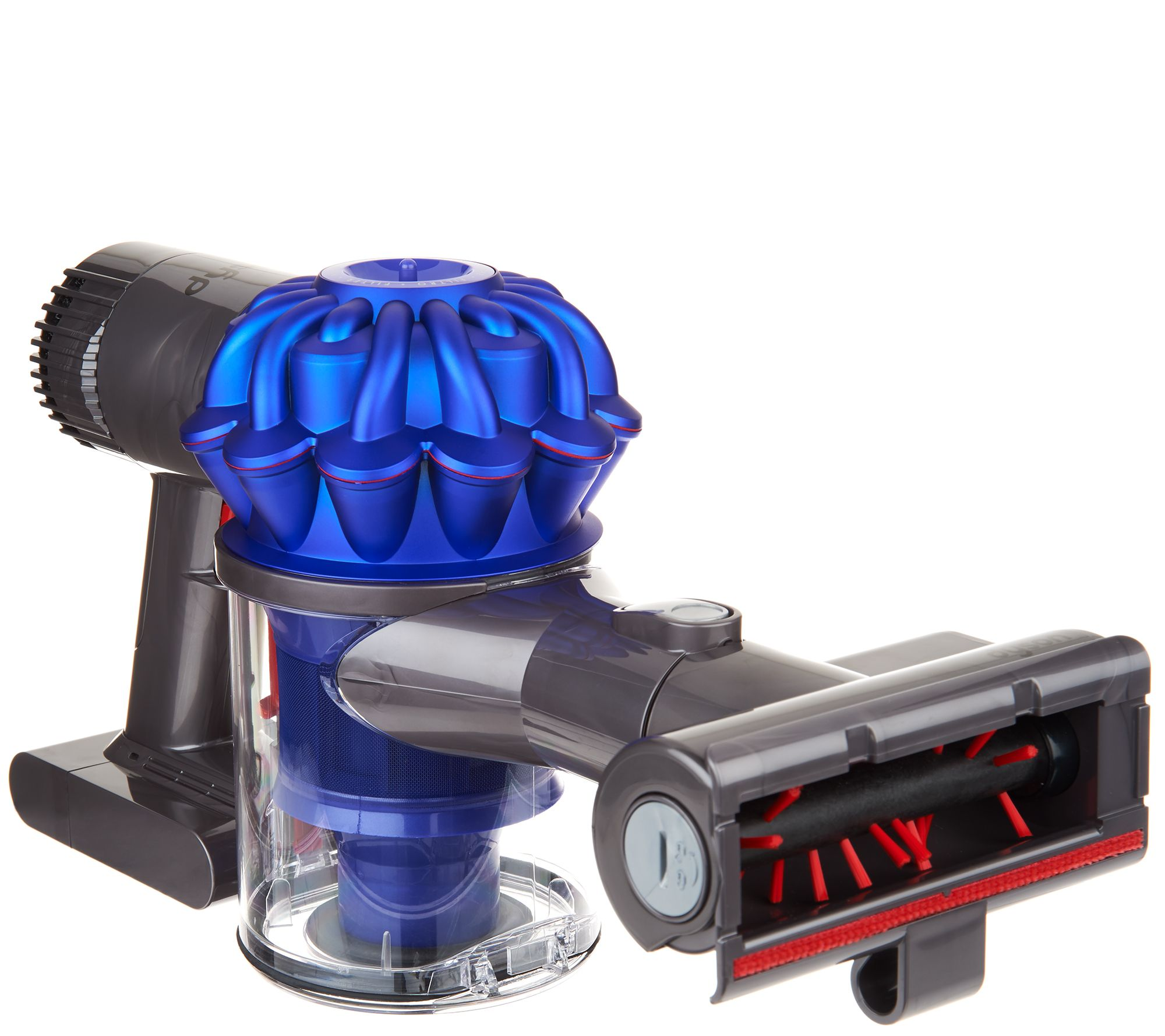 Image of: Grooming Dyson V6 Trigger Animal Handheld Vacuum With Tool Attachments Back To Video Qvccom Dyson V6 Trigger Animal Handheld Vacuum With Tool Attachments