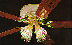 Encon industries elite 52 5 blade ceiling fan oak or walnut qvc encon industries elite 52 5 blade ceiling fan oak or walnut aloadofball Choice Image